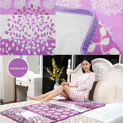 Single Electric Blanket Heating Mat Winter Warmer