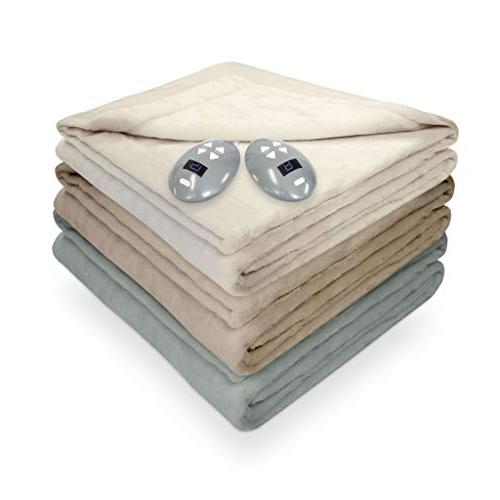 SoftHeat by Perfect   Luxurious Heated Blanket with Low-Voltage Technology
