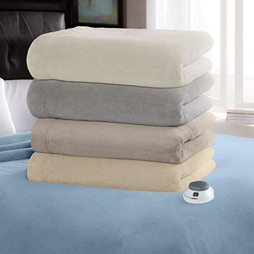 SoftHeat Perfect Fit   Heated Electric Blanket with Safe Low-Voltage