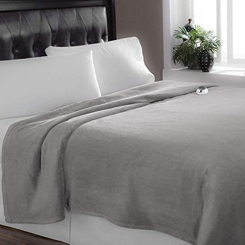 SoftHeat by   Luxurious Heated Warming Blanket with Safe Low-Voltage