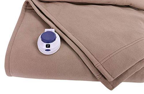 SoftHeat Fit | Luxury Fleece Heated Blanket &