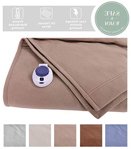 soft heat luxury micro fleece