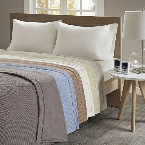 Beautyrest Soft Heated Blanket,