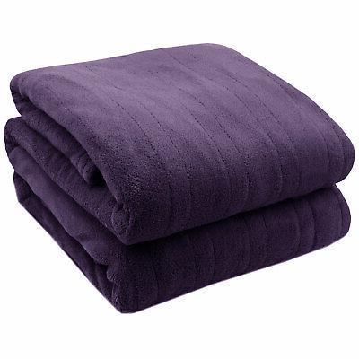 Biddeford Soft Heated Blanket Digitalpod