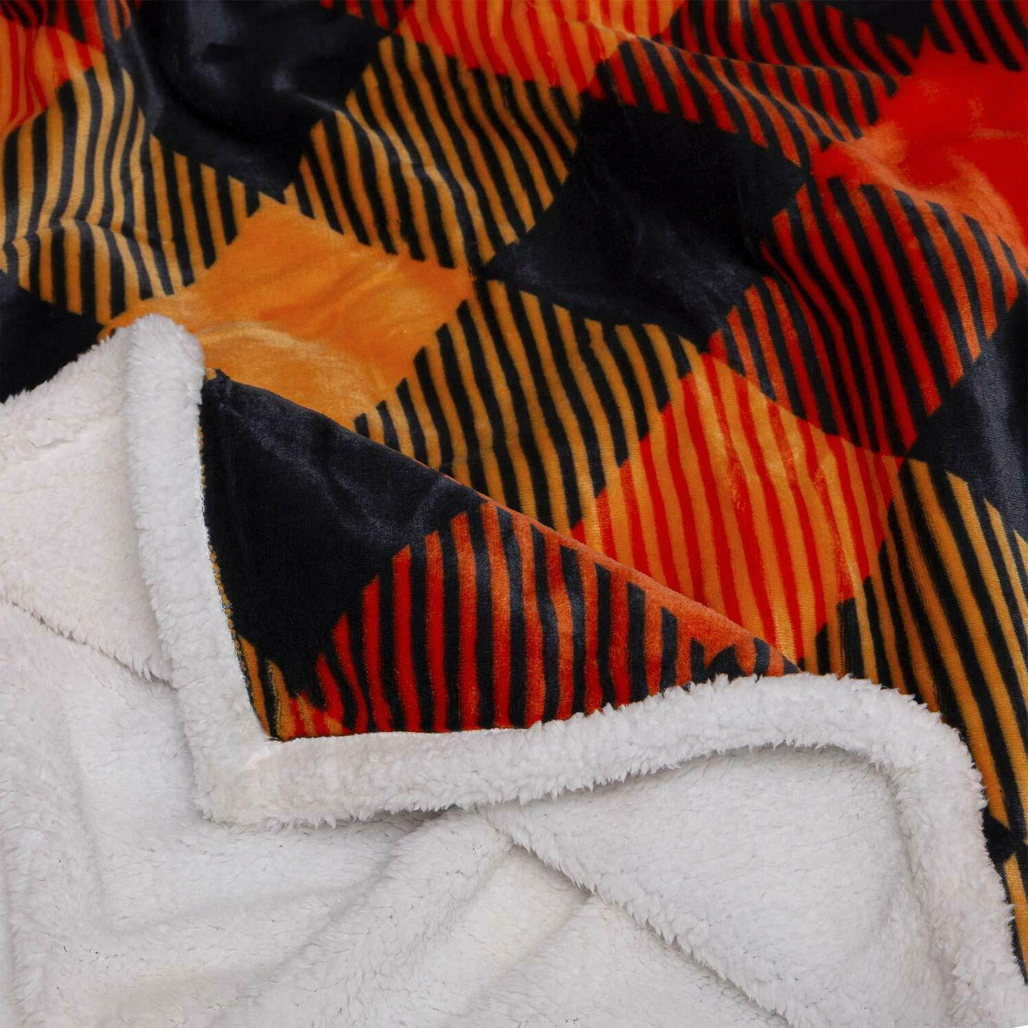 Soft Blanket Buffalo Flannel Fleece