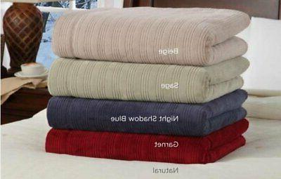 softheat by perfect fit ultra soft plush