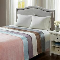 Luxury Soft & Lofty Microlight Year Round Warmth Blanket - A