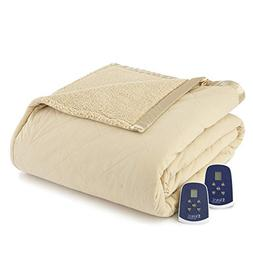 Shavel Home Products Micro Flannel Reversible Sherpa Electri