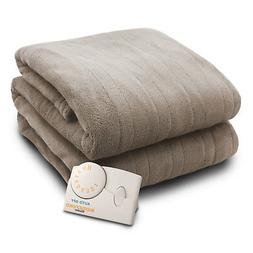 Biddeford MicroPlush Electric Heated Blanket Analog - Assort