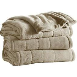 Sunbeam Microplush Heated Blanket with ComfortTech Controlle