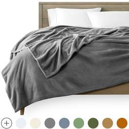 Microplush Velvet Fleece Blanket - Premium Ultra Soft - Easy