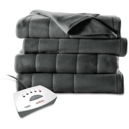 Sunbeam Plush Electric Heated Blanket Full Home Bedding Blan