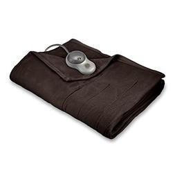 Sunbeam Heated Blanket | 10 Heat Settings, Quilted Fleece, W