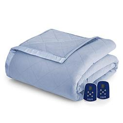 Shavel Home Products Thermee Electric Blanket, English Blue,