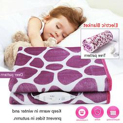 Single Bed Electric Heated Blanket Heating Mat  Winter Warme