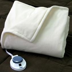Soft Electric Heated Blanket Weighted