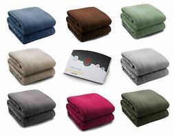Biddeford Soft Microplush Electric Heated Warming Blanket Di
