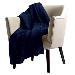 Sunbeam Velvet Plush Electric Heated Throw Blanket