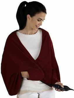 Sunbeam TCFQR-310-00 Fleece Chill-Away Electric Heated Wrap,