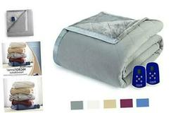 Thermee Micro Flannel Micro Flannel Electric Blanket, Queen,