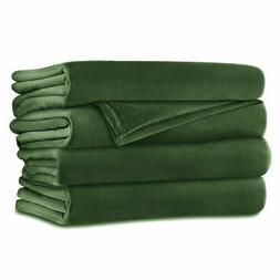 Sunbeam Velvet Plush Electric Heated Blanket King Size Ivy G