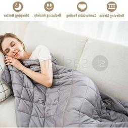 Weighted Blanket Gravity Blankets Soft Breathable Sleep Bed